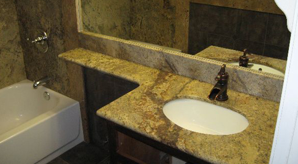Bathroom Tile for Countertop and Shower